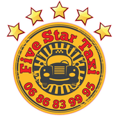 LOGO FIVE STAR TAXI 0686839995